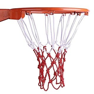 Durable Robust Standard Nylon Thread Sports Basketball Hoop Mesh Net Backboard Rim Ball thumbnail