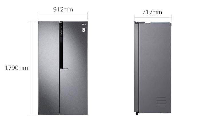 LG 680L Refrigerator LG GCB247KQDV