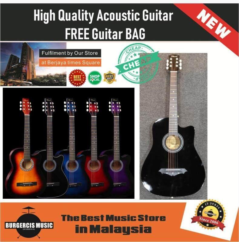 High Quality Acoustic Guitar 38 Inch FREE Guitar Bag Malaysia