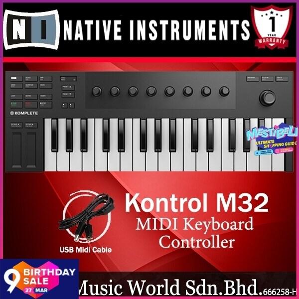 Native Instruments Komplete Kontrol M32 32 Key USB MIDI Keyboard Controller with Micro Keybed (M 32) Malaysia