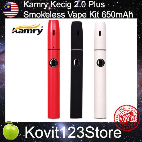Original Kamry Kecig 2.0 Plus Smokeless Vape Kit 650mAh Vaporizer Malaysia