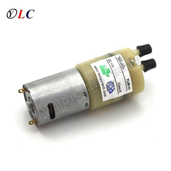 DC Carbon Brush 370 Diaphragm Micro Pump Air Pump / Nylon Pump Body / 12V Aeration Pump Miniature Diaphragm Self-priming Pump