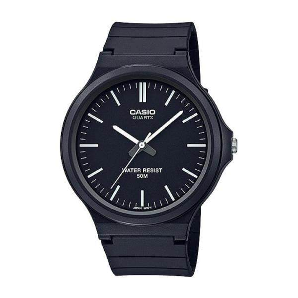 2019 Casio Mens Standard Analog Black Resin Band Watch MW240-1E MW-240-1E (watch for man / jam tangan lelaki / men watch / watch for men / casio watch for men / casio watch) Malaysia