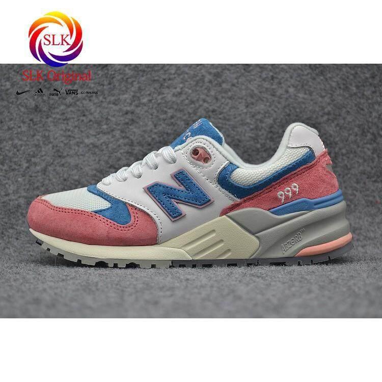 ยี่ห้อไหนดี  อ่างทอง SLK เดิม★Original New Balance รองเท้าบุรุษสำหรับรองเท้าผู้หญิงรองเท้าผ้าใบ ML999MG 36-39