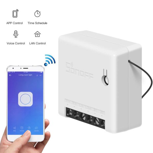 Công Tắc Mini Mart Của Aagest Wifi Tự Làm Hai Chiều Với Sonata Hệ Thống Dây Điện Mô-đun Tự Động Hóa Gia Đình Tương Thích Với EweLink Alexa Amazon Google Home