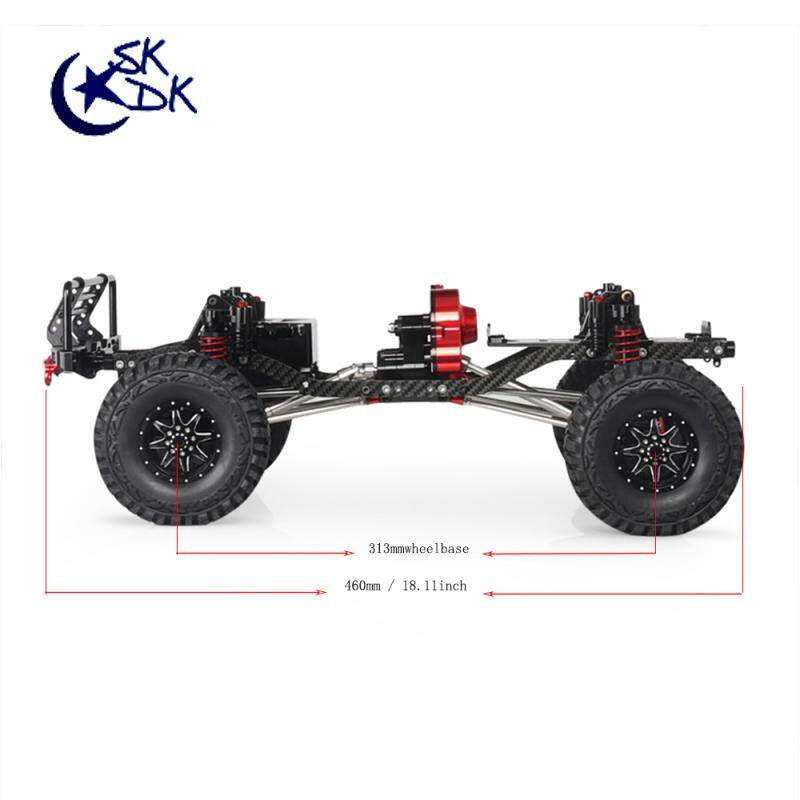 Wheelbase Chassis Frame for 1/10 AXIAL SCX10 II 90046 90047 RC Crawler  Climbing Car