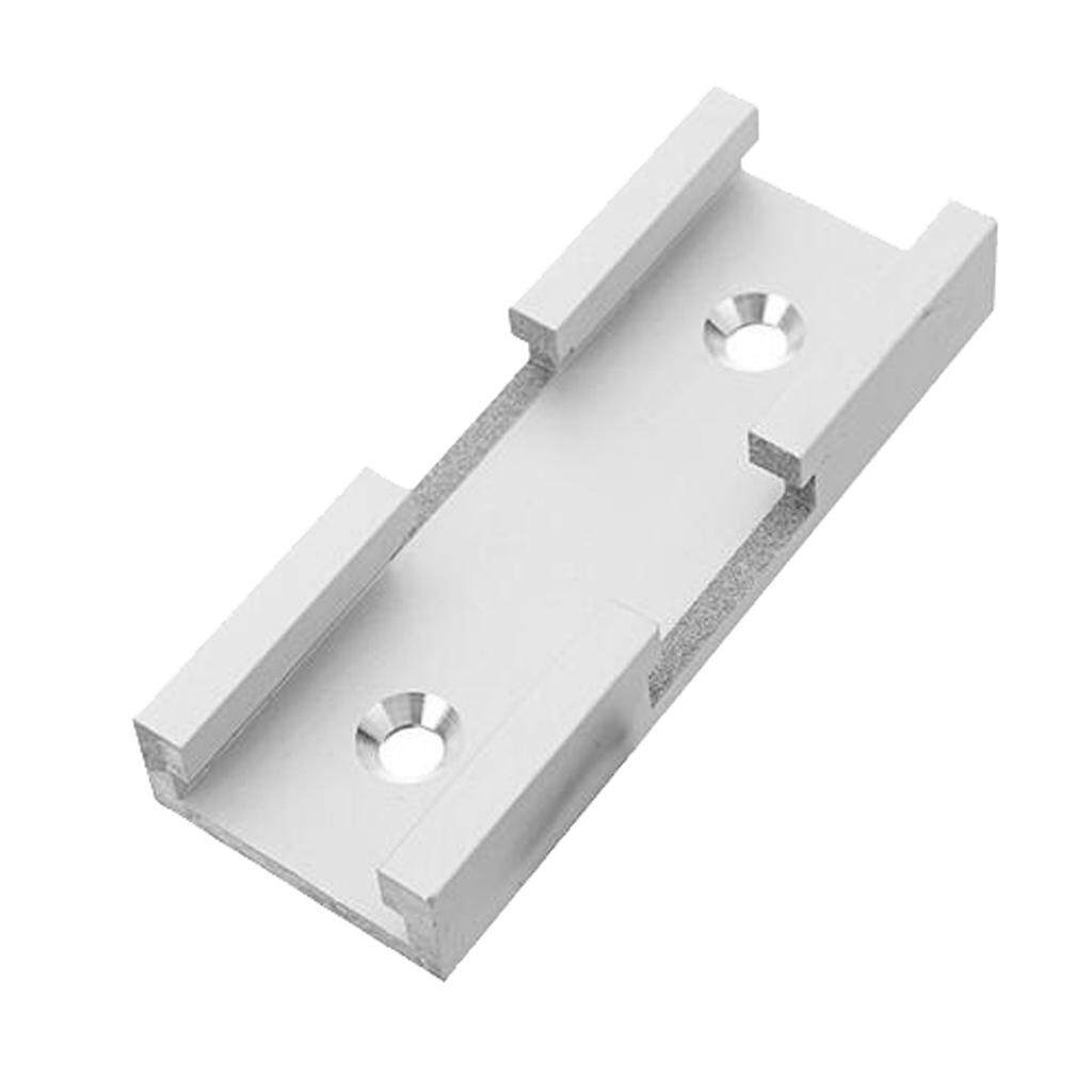 BolehDeals 4x T-Slot Miter Track Stop for T-Slot T-Track Woodworking Manual 30 Type B