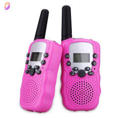 HONE 2 Cái/bộ Đồ Chơi Trẻ Em 22 Kênh Walkie Talkies Hai Way Radio UHF Tầm Xa Cầm Tay Thu Phát Trẻ Em Quà Tặng