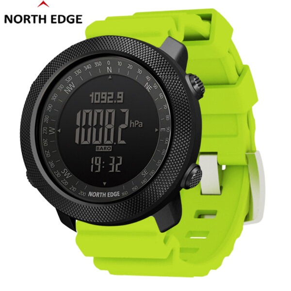 NORTH EDGE Apache3 Men Outdoor Sport Watch Waterproof 50M Multiple Color Silicone Strap Military Army Watch Malaysia