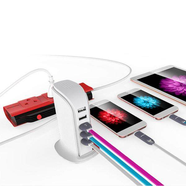 Bảng giá Phổ Biến nhất Kích Thước Di Động Cao Cấp Tốc Độ ABS 5 Cổng USB HUB Bộ Chia USB Adapter Phong Vũ