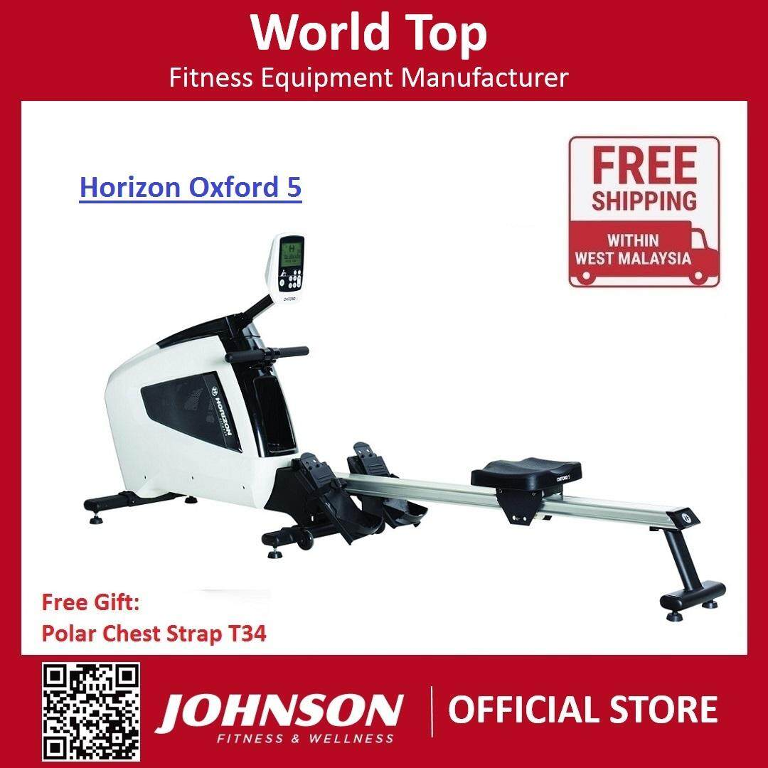 Johnson Fitness Horizon Oxford 5 Rower Machine By Johnson Fitness.