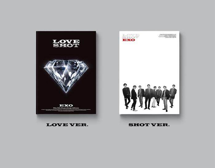 EXO - LOVE SHOT 5TH ALBUM REPACKAGE(VERSION RANDOM / Folded Poster)