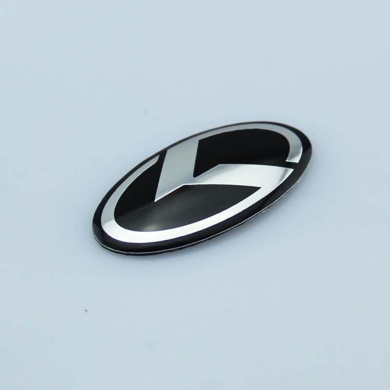 Màu Sắc Đen Lái Ô Tô Logo Dán Túi Khí Tôn Hiệu Cho Xe Kia Đổi K Ký K5 Mark Biểu Tượng