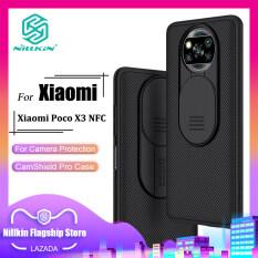 Nillkin Vỏ Máy Ảnh Trượt Cho Xiaomi Poco M3 Pro / Poco F3 / Poco X3 Pro / Poco X3 NFC / Poco M3 Trường Hợp Điện Thoại PC Trượt Máy Ảnh Bảo Vệ Cover Quay Lại