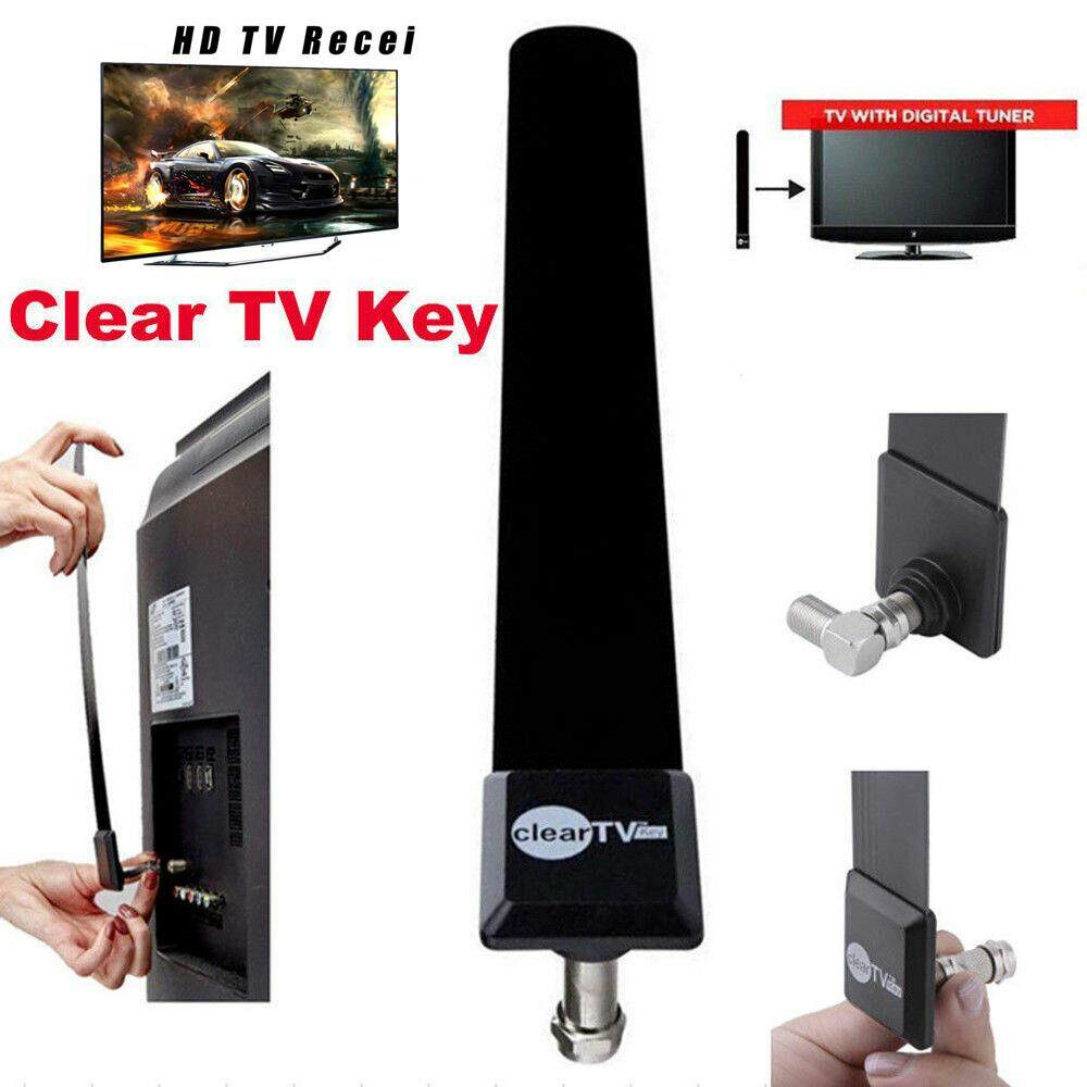 FREE HD TV Digital Indoor Antenna Ditch Cable Home Clear TV Key 1080p HDTV 100
