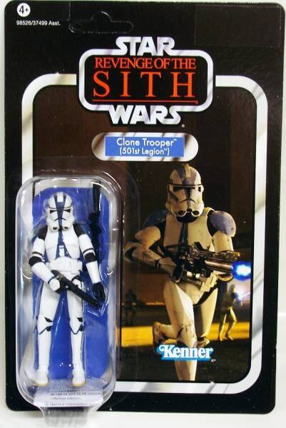 Clone Trooper 501st Legion Star Wars Revenge Of The Sith Action Figures Zk078 Lazada
