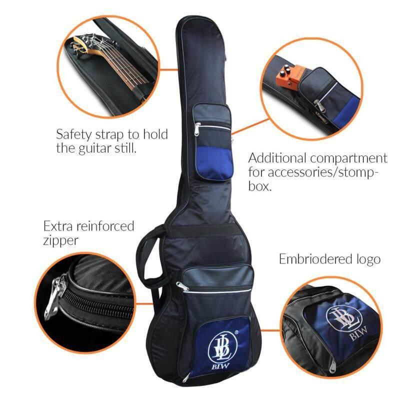 BLW Premium Bass Guitar Gig Bag for Precision Bass with 3 Compartments (Black) Malaysia