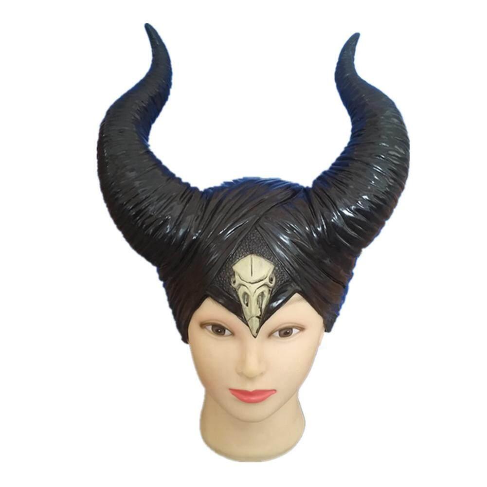 Halloween Costumes Horns Hat Deluxe Headpiece for Women Girls Adult