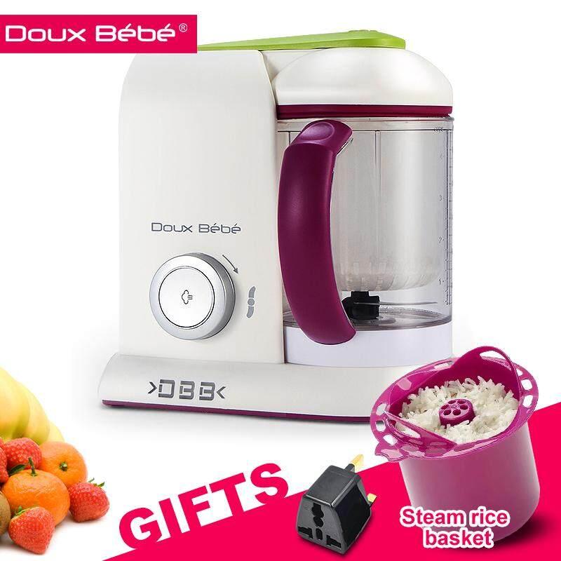 Douxbebe 4 in 1 Baby Food Maker Babycook Steam Cooker & Blender and Dishwasher Safe Food