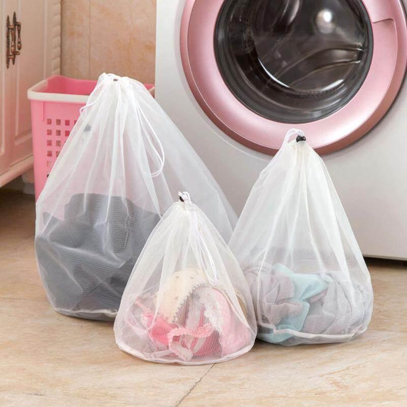 Mã Tiết Kiệm Để Mua Sắm 3 Làm Dày Máy Giặt Túi Lưới Đựng Đồ Giặt Mỹ Áo Bra Phối Lưới Nylon Túi Giặt Đồ Lót Bao
