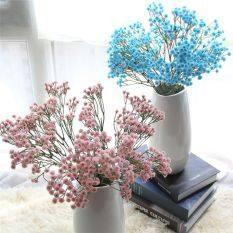 Lụa Mẫu Trang Trí Mới Bé Tiệc Hoa Hoa Khô Hơi Thở Bó Hoa Hoa Giả