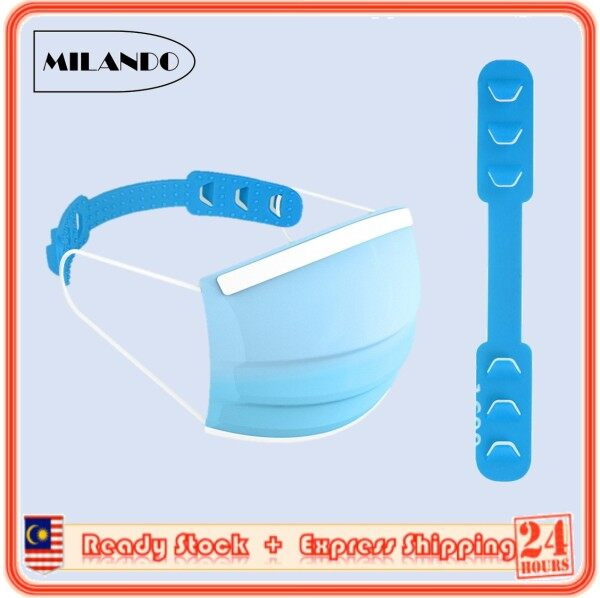 MILANDO Muslimah Face Mask Extend Ear Protector Hook Extension Cord Strap Extender for 3 Ply Face Mask (Type 1)