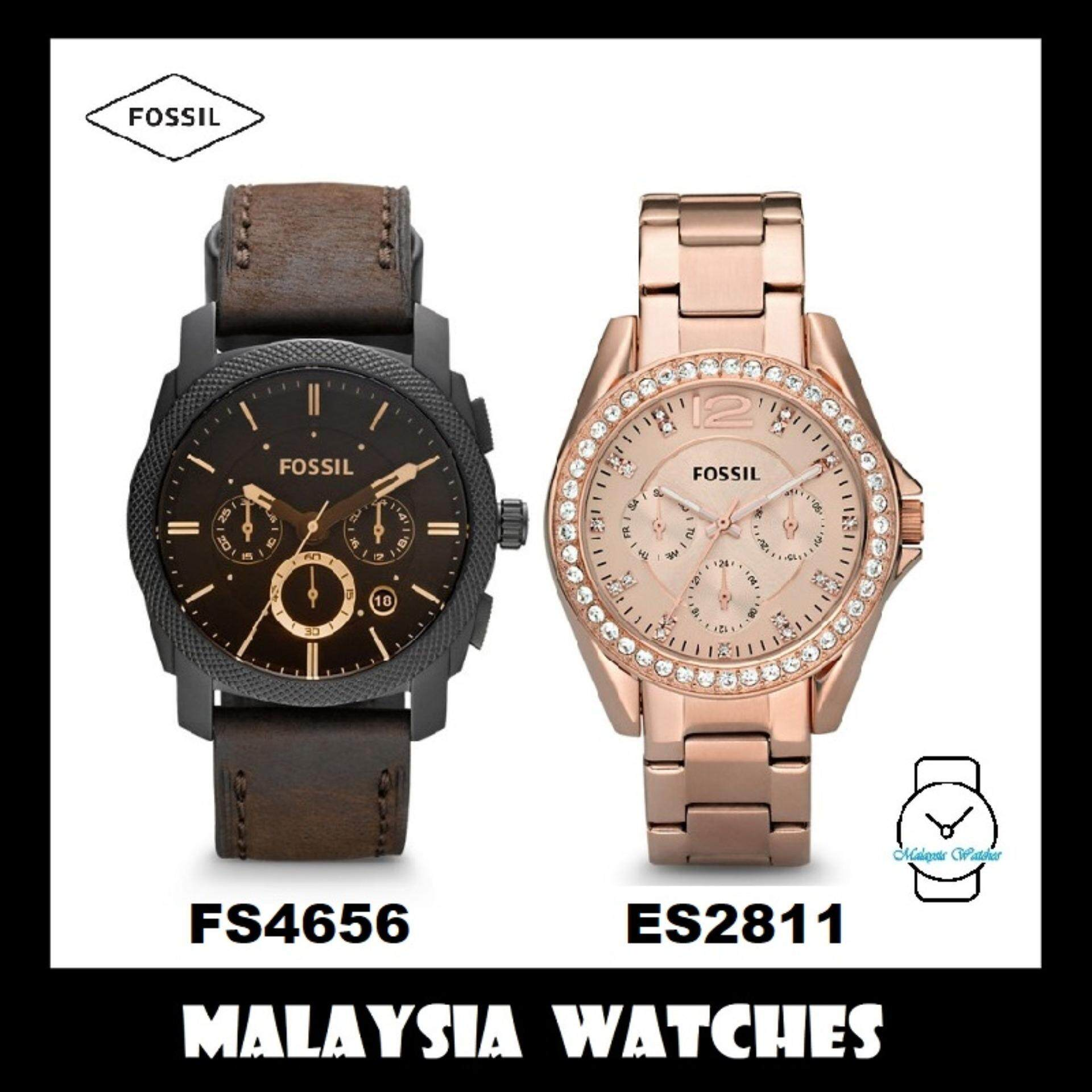 Fossil Jam Tangan Wanita Fossil ES3838 Original BoyfriendChronograph Navy  Leather Watch. Source · (OFFICIAL WARRANTY) Fossil Men s   Women s FS4656    ES2811 ... a878755745
