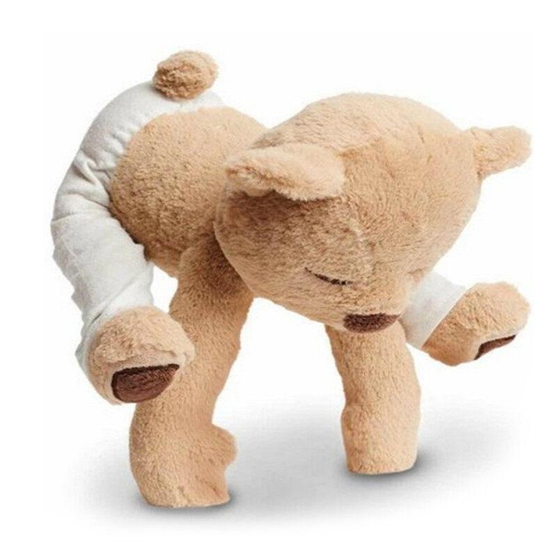 [tuetr8564]Flexible Remodelable Pose Yoga Bear Cute Bear Soft Plush Toys