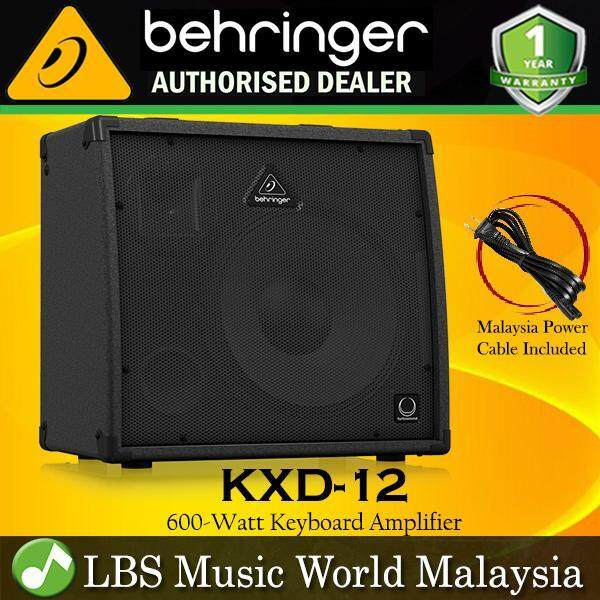 Behringer KXD-12 600W Ultratone 4 Channel Keyboard Amplifier Amp (KXD12 KXD 12) Malaysia