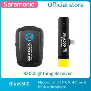 Saramonic Blink 500 Hệ Thống Micro Không Dây Hai Kênh Ultracompact 2.4GHz Máy Ảnh DSLR Không Gương Lật Quay Video Điện Thoại thumbnail