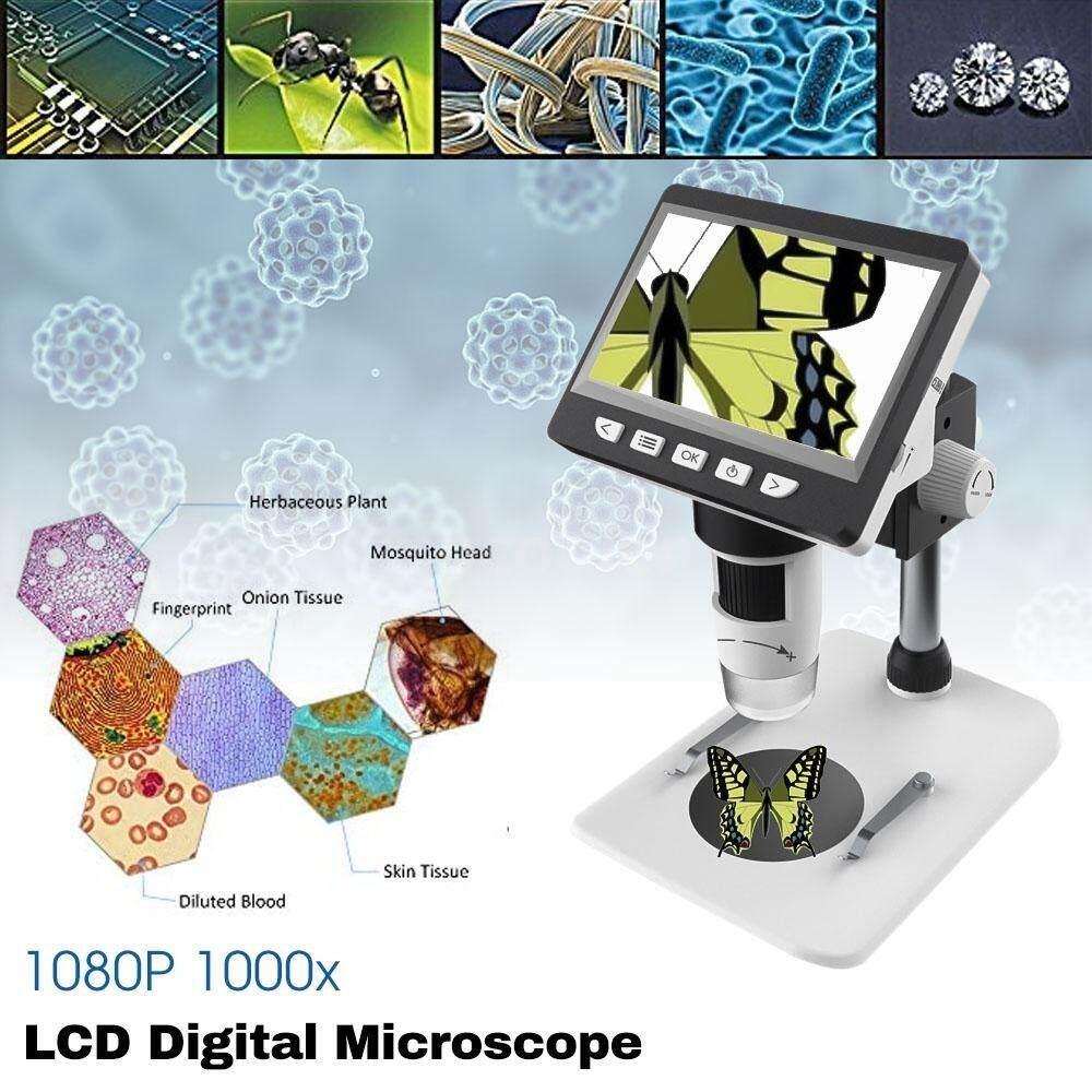 Mustool 1080P G700 1000X4.3 ''HD Di Động Màn Hình LCD Kỹ Thuật Số Kính Hiển Vi Quay Video Siêu Khuyến Mại