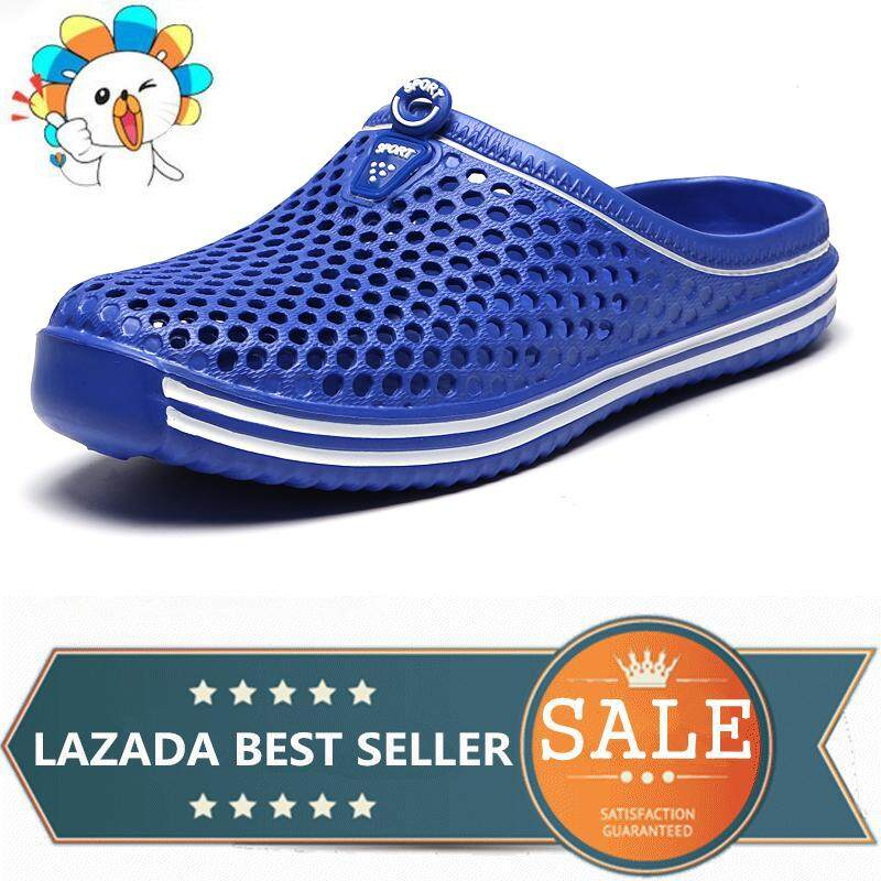 Sports Sandals For Men Slippers Outdoor Water Shoes Women Fashion Slip On Beach Shoes Comfortable Flat Sandals Women Shoes Croc Men Slippers.