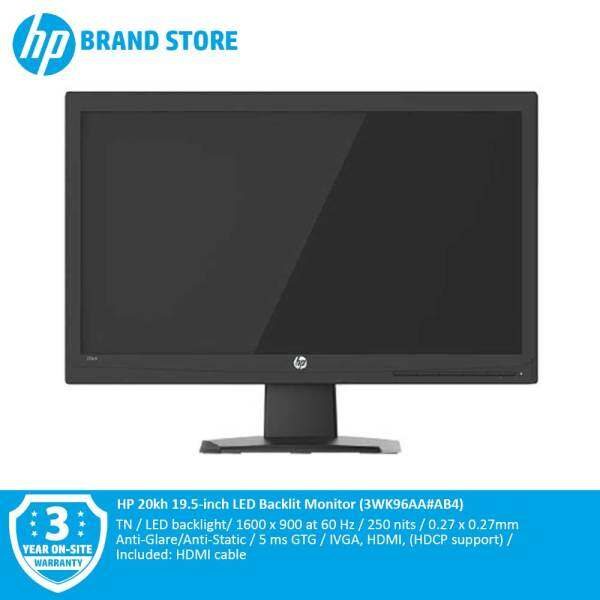 HP 20kh 19.5-inch LED Backlit Monitor Malaysia