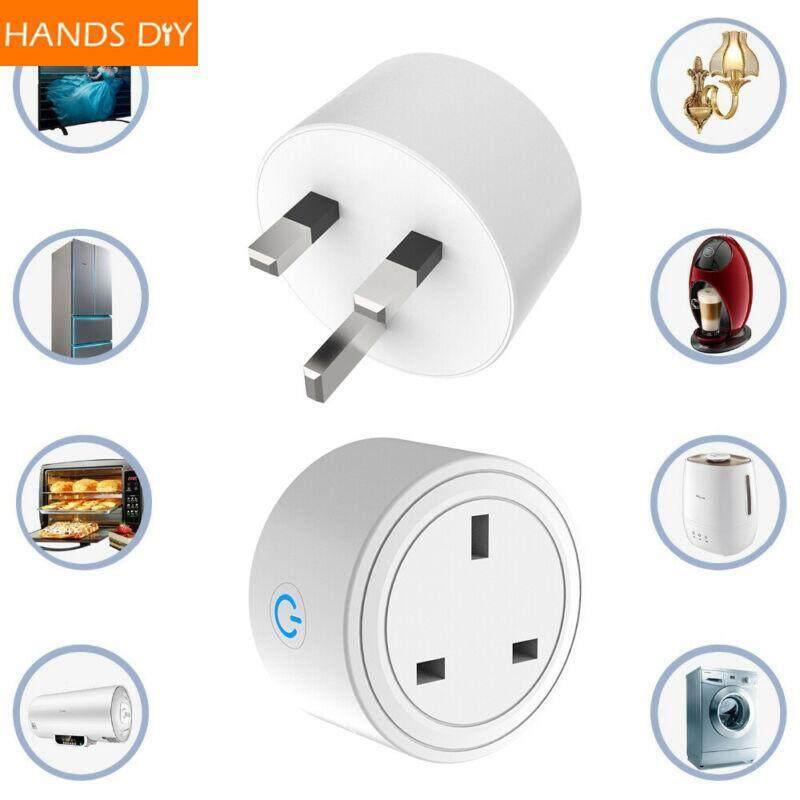 HANDDIY Smart WIFI Plug Socket Power Switch APP Remote Control Timer UK Home Automation