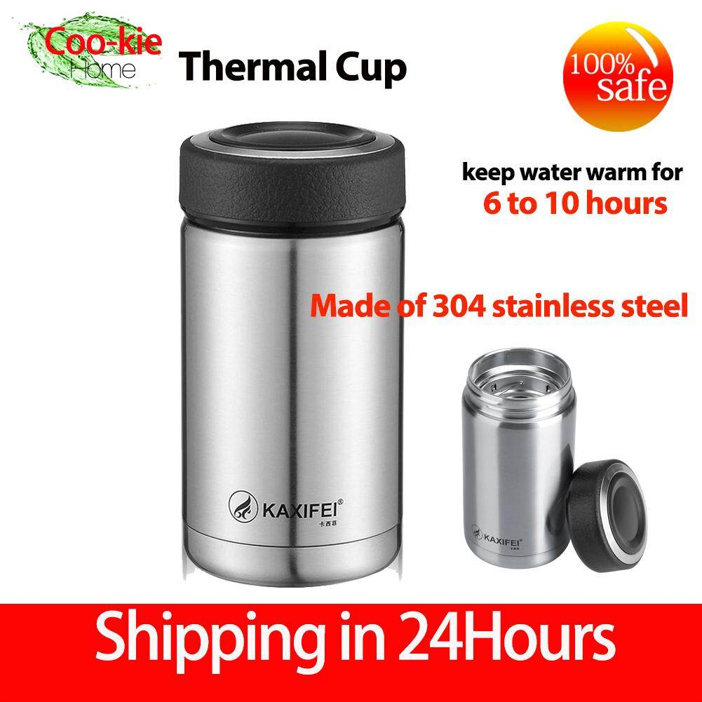 【Made in Korea】KAXIFEI Stainless Steel Vacuum Thermal Insulated Travel Mug Bottle Flask Coffee