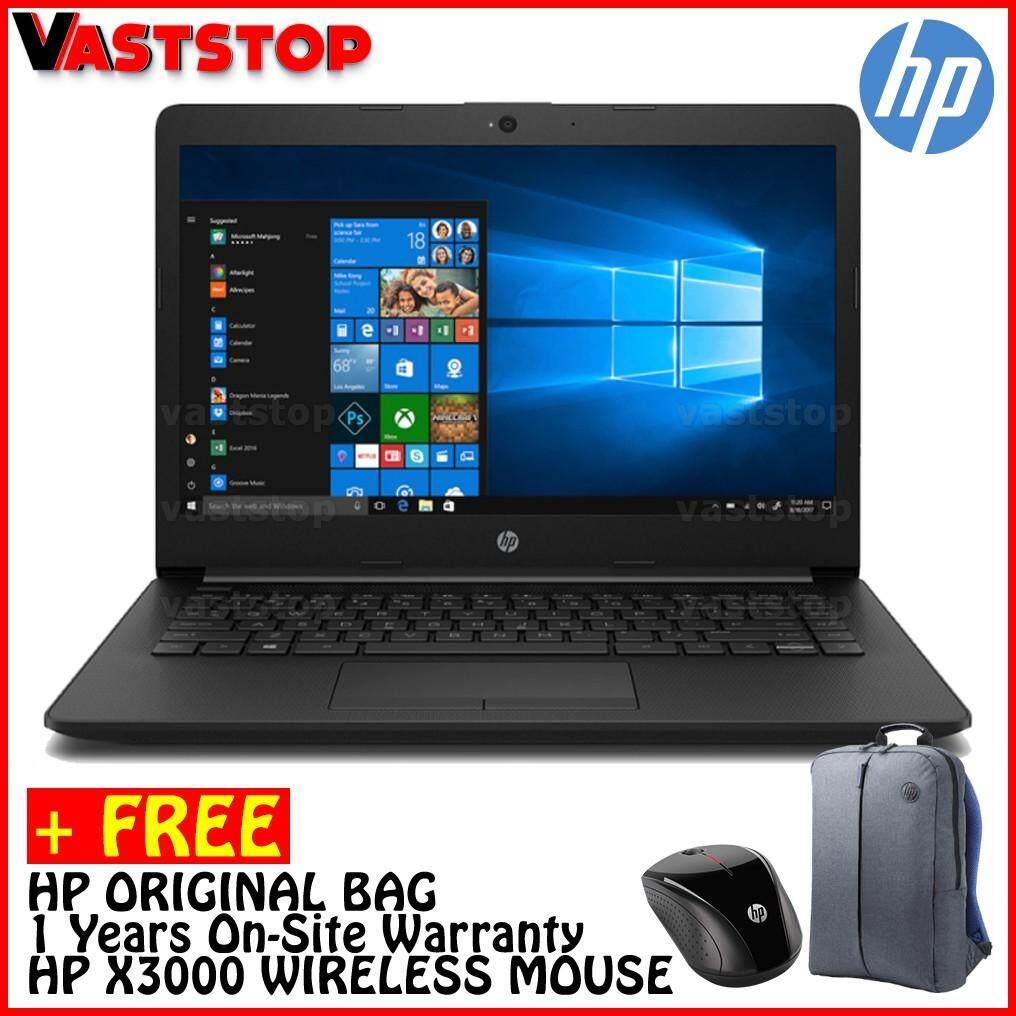 HP 14-CK0020TX 14.0 Laptop Black ( I3-7020U, 4GB, 1TB, Radeon 520 2GB, W10 )