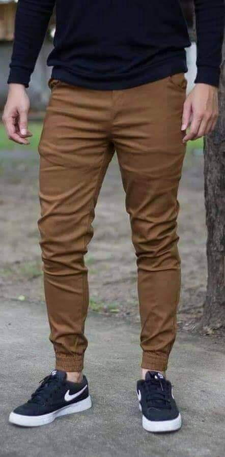 Men Gabardine Jogger/best Quality/fast Delivery/ready Stock/local Seller By Best Moments Collection.