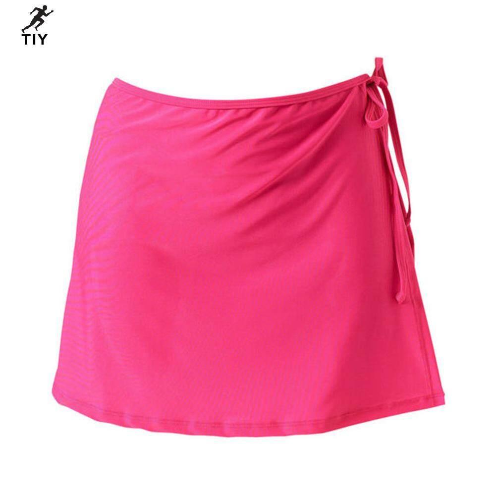 Tiy【hot Sale】 Nữ Mùa Hè Váy Thắt Bên Bên Bờ Biển Kỳ Nghỉ Cổ Tạp Dề Nữ Váy 【Within 48 Hours】 Đang Giảm Giá