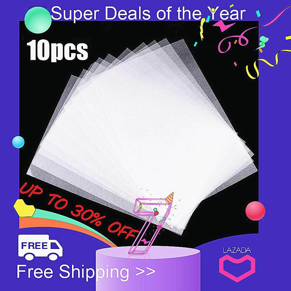 【free Shipping + Super Deal + Limited Offer】10x Heat Shrink Paper Film Sheets For Diy Jewelry Making Craft Deco Rough Polish By Moonbeam.
