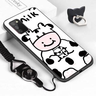 ZeroQiQi, Dành Cho Ốp Lưng Samsung Galaxy A02s Ốp Lưng Silicon Mềm Chống Sốc Hình Bò Sữa Trừu Tượng Hoạt Hình Dễ Thương thumbnail