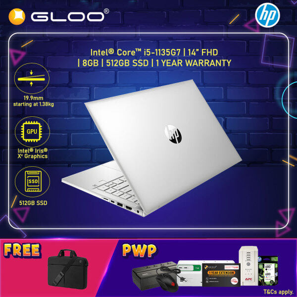 NEW HP Probook 440 G8 2Y7Y5PA Laptop 14 FHD (i5-1135G7, 512GB SSD, 8GB, Intel Iris Xe Graphics, W10P) - Silver [FREE] HP TopLoad Carrying Case Malaysia