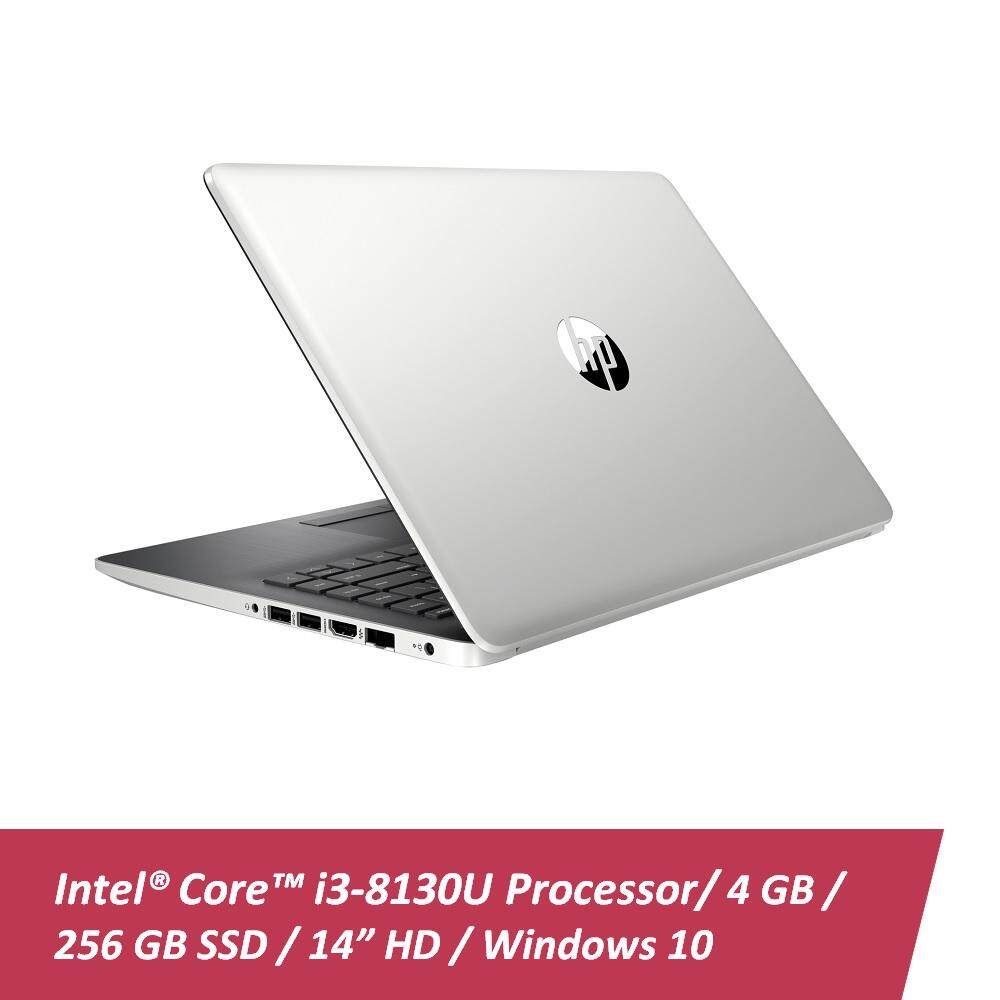 [Online Exclusive] HP 14-ck0124TU Notebook Silver /i3-8130U/ 4GB/ 256GB/ 14-Inch/ Win10 Malaysia