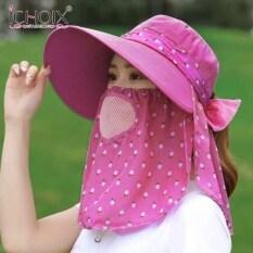 Ichoix 2020 Mũ Mới Nữ Chống Nắng Mùa Hè Mũ Che Nắng Mũ Che Nắng Big Edge Mũ Làm Mát Ngoài Trời Bảo Vệ Khỏi Tia UV Trà Cưỡi Mũ Che Nắng