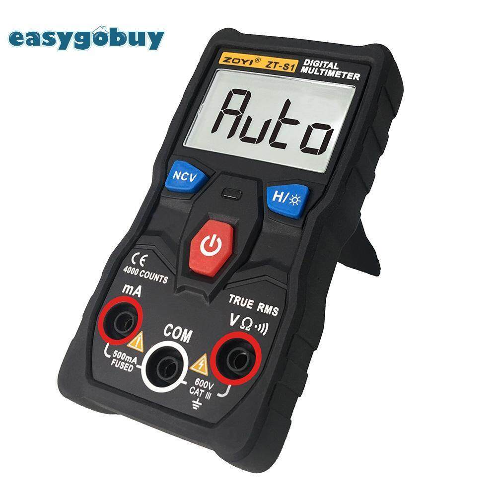 [easygoingbuy]ZOYI ZT-S1 True RMS Digital Multimeter Auto-ranging Voltage Current Meter