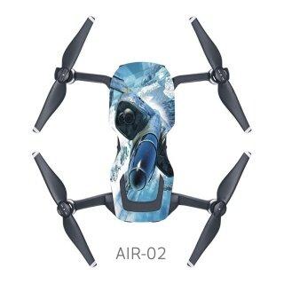 Carbon Sợi Giấy Drone Decal Sticker, Di Động Bay Không Người Lái Trang Trí Cơ Thể thumbnail