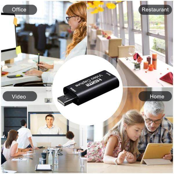 Hdmi Video Capture Card Usb 2.0/1080p Hd Recorder for Video Live Streaming Game Game Video Capture