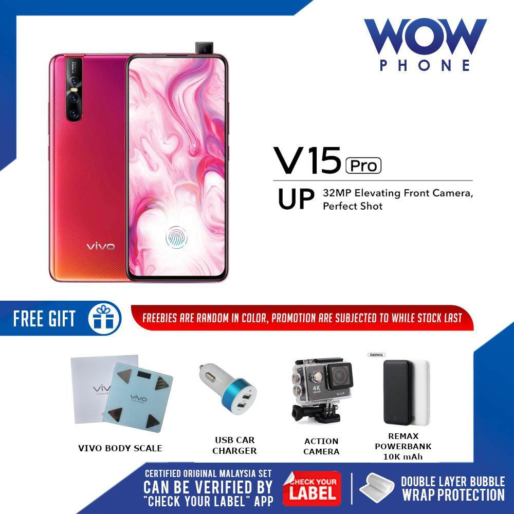 VIVO V15 PRO (8GB RAM / 128GB ROM) ORIGINAL MALAYSIA SET!! 1 YEAR WARRANTY  BY VIVO MALAYSIA!! EXCLUSIVE FREEBIES ONLY ON WOWPHONE!!