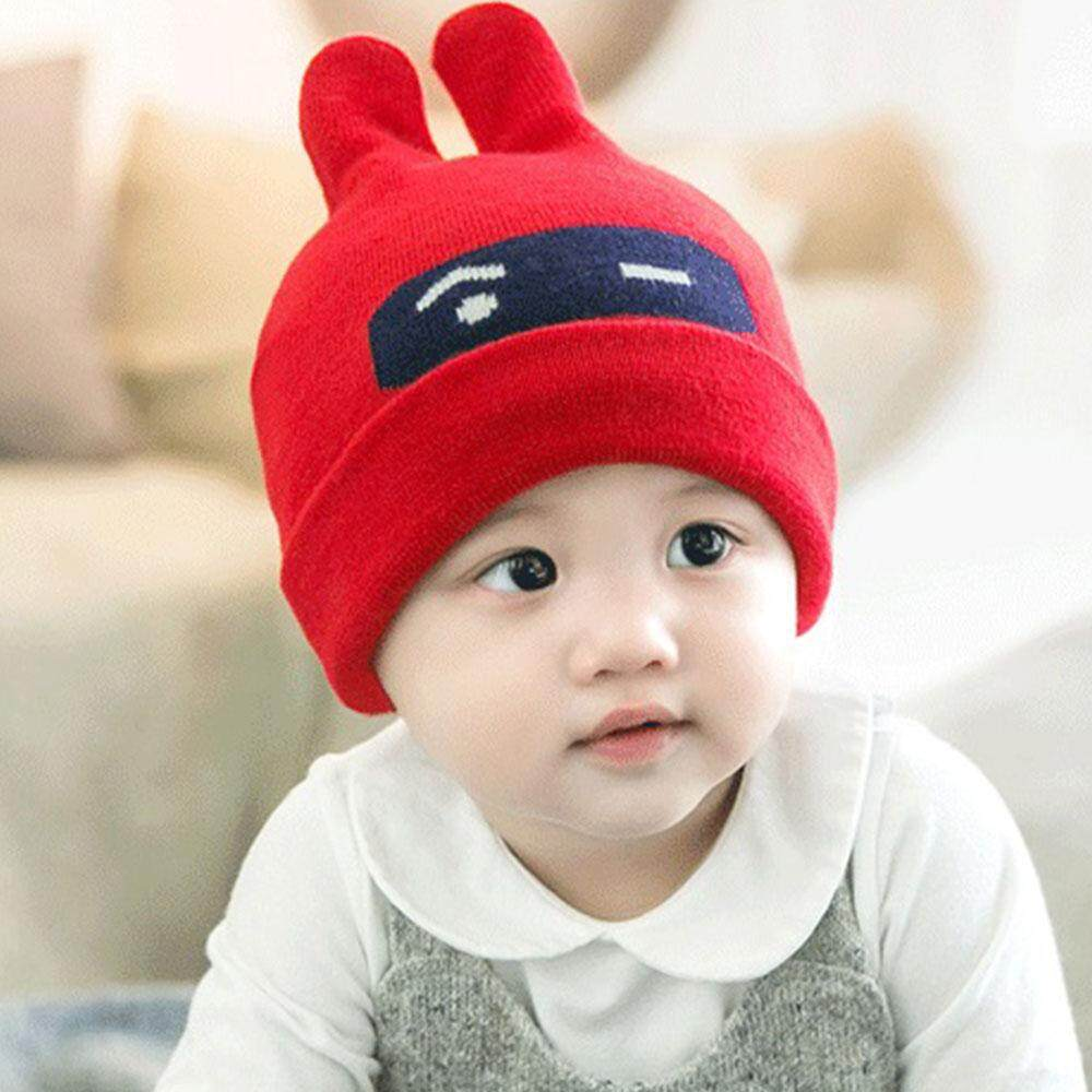Mayler Store Cap Ears Shape Hat Beanie Cute Comfortable Bonnet Keep Warm Protection Woollen Soft Cartoon Breathable Baby Supplies Knitting By Mayler Store.