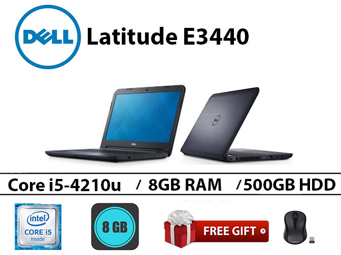 Dell Latitude E3440 Intel core i5-4210u 8GB RAM 500GB HDD 14 inch Malaysia