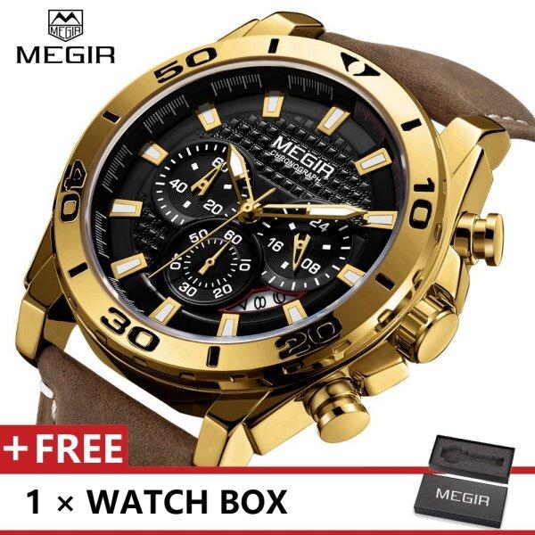 MEGIR MGE2094G Top Luxury Brand Watch For Man Fashion Sports Men Quartz Watches Trend Wristwatch Gift For Male jam tangan lelaki Malaysia